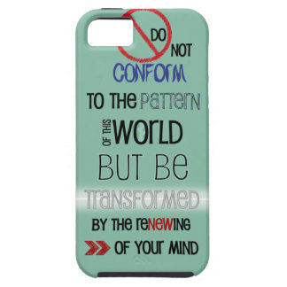Christian iPhone 5 case: Do Not Be Conformed Case For The iPhone 5