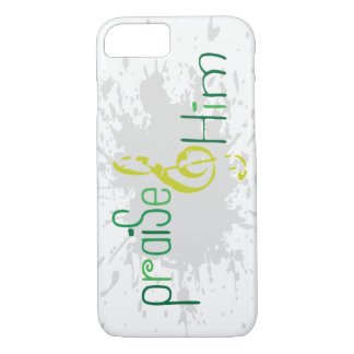 Christian iPhone 7 case: Praise Him iPhone 8/7 Case