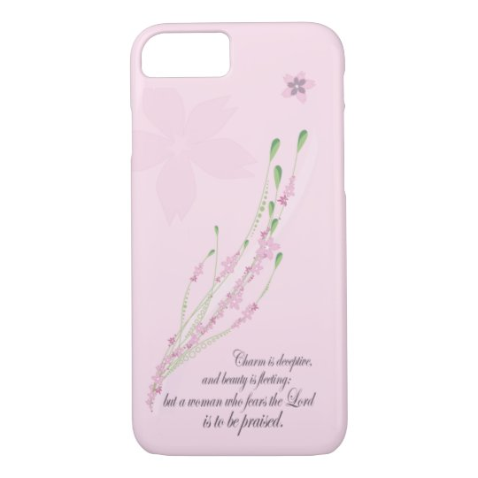 Christian iPhone 7 case: Proverbs 31 Woman iPhone