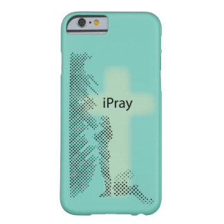 Christian iPhone case: iPray Barely There iPhone 6 Case
