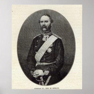Christian IX, King of Denmark Poster