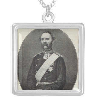 Christian IX, King of Denmark Silver Plated Necklace