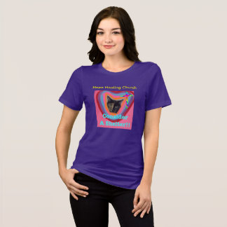 Christian Jesus Cat Animal Shelter Rescue T-Shirt