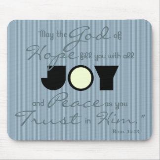 Christian Joy Mouse Pad