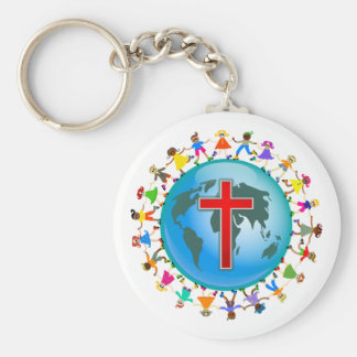 Christian Kids Key Ring