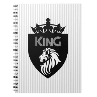 Christian KING of KINGS Devotional Spiral Note Book