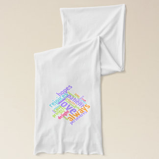 Christian Love Is Patient Jersey Scarf