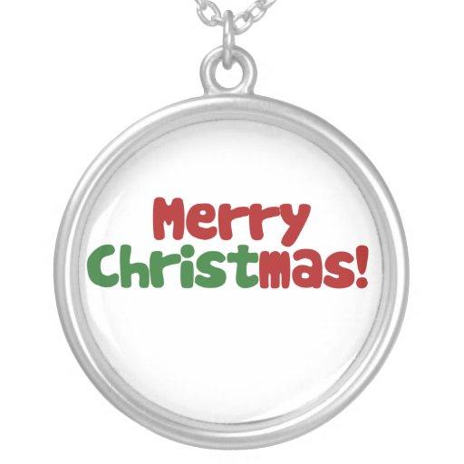 Christian Merry Christmas Jewelry