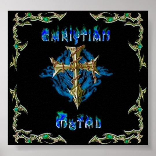 christian metal poster