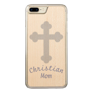 Christian Mom Carved iPhone 8 Plus/7 Plus Case