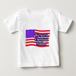 christian nation t shirt
