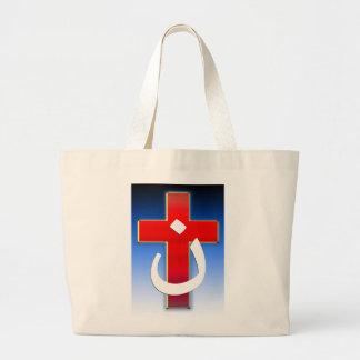 Christian Nazarene Cross #1 Jumbo Tote Bag