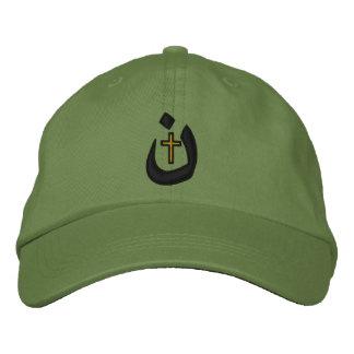 Christian Nazarene Symbol Solidarity Stitches Embroidered Baseball Caps