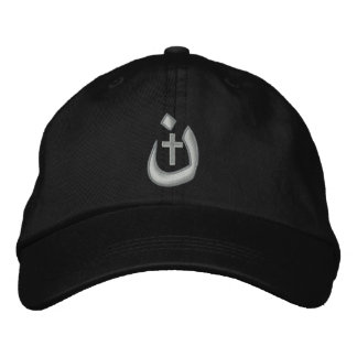 Christian Nazarene Symbol Solidarity Stitches Embroidered Hats