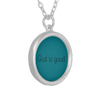 Christian Necklace (God is good)