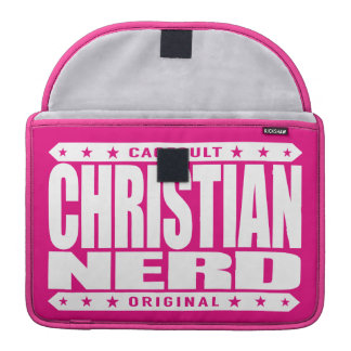 CHRISTIAN NERD - Thank God for The Big Bang Theory MacBook Pro Sleeve