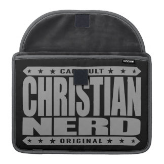 CHRISTIAN NERD - Thank God for The Big Bang Theory Sleeve For MacBooks