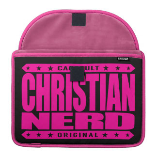 CHRISTIAN NERD - Thank God for The Big Bang Theory Sleeves For MacBook Pro