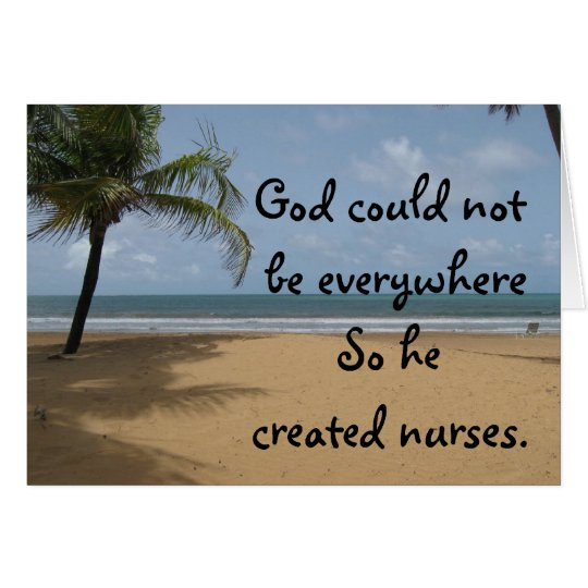 Christian Nurse Greeting Card