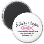 Christian Nurse Refrigerator Magnet
