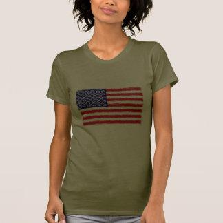 Christian Origin of the U S A Flag Tshirts