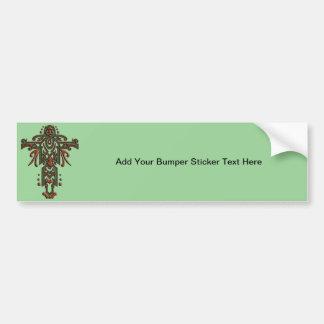 Christian Ornate Cross 13 Bumper Sticker
