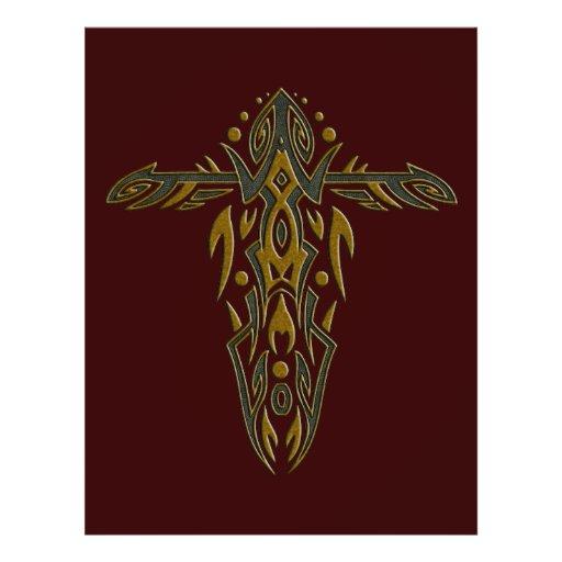 Christian Ornate Cross 15 Flyer Design