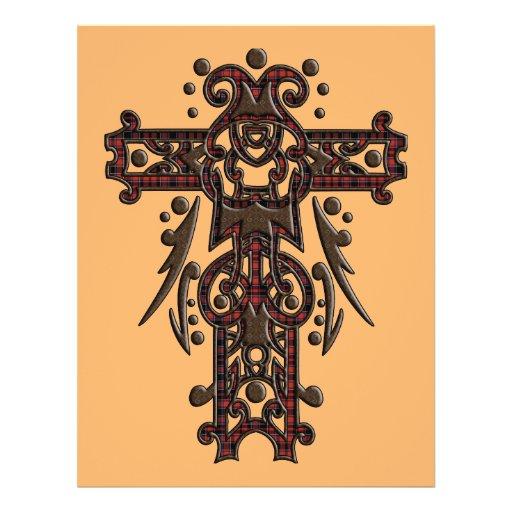 Christian Ornate Cross 16 Flyer Design