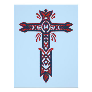 Christian Ornate Cross 23 Flyers
