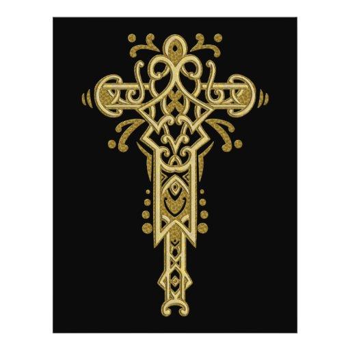 Christian Ornate Cross 26 Flyer