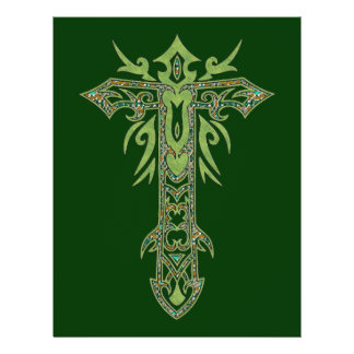 Christian Ornate Cross 28 Flyers