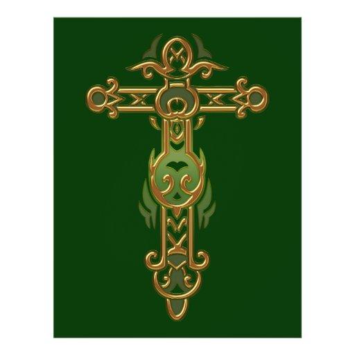 Christian Ornate Cross 31 Flyer