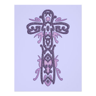Christian Ornate Cross 32 21.5 Cm X 28 Cm Flyer