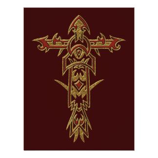 Christian Ornate Cross 33 Full Color Flyer
