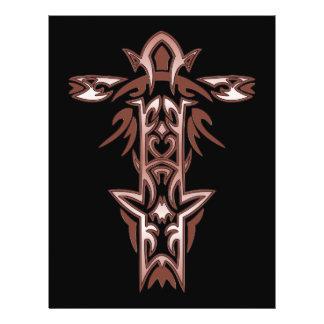 Christian Ornate Cross 34 21.5 Cm X 28 Cm Flyer