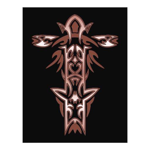 Christian Ornate Cross 34 Flyers