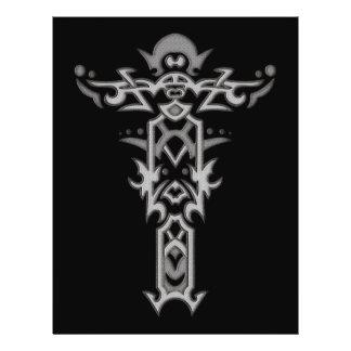 Christian Ornate Cross 37 Custom Flyer