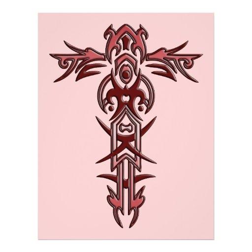 Christian Ornate Cross 3 Flyer