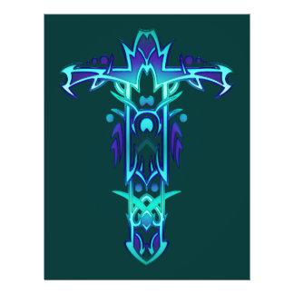 Christian Ornate Cross 41 Flyer Design