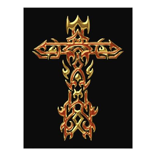 Christian Ornate Cross 45 Flyer