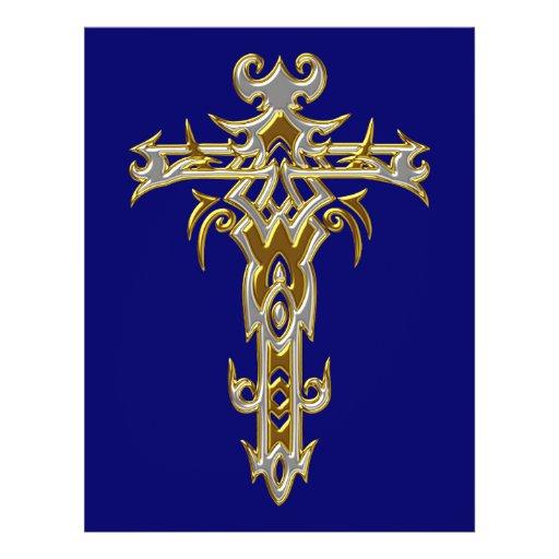 Christian Ornate Cross 46 Flyer Design