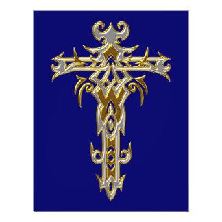 Christian Ornate Cross 46 Flyers