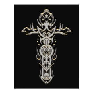 Christian Ornate Cross 57 Full Color Flyer