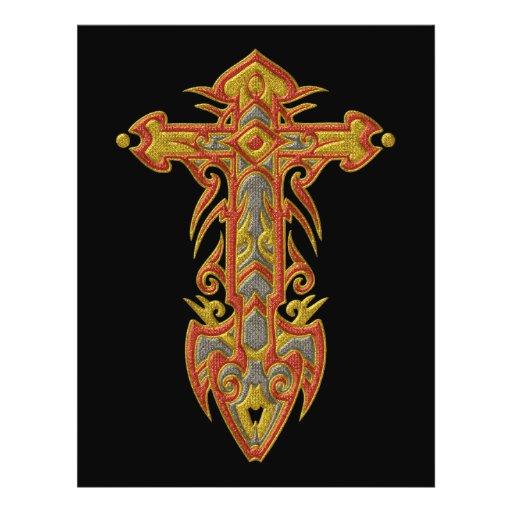 Christian Ornate Cross 59 Flyer Design