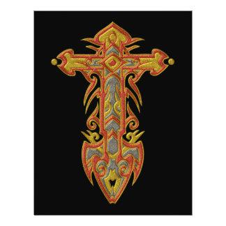 Christian Ornate Cross 59 Flyers