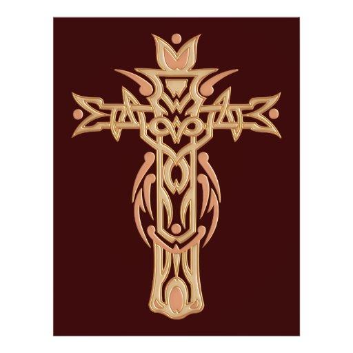 Christian Ornate Cross 60 Custom Flyer