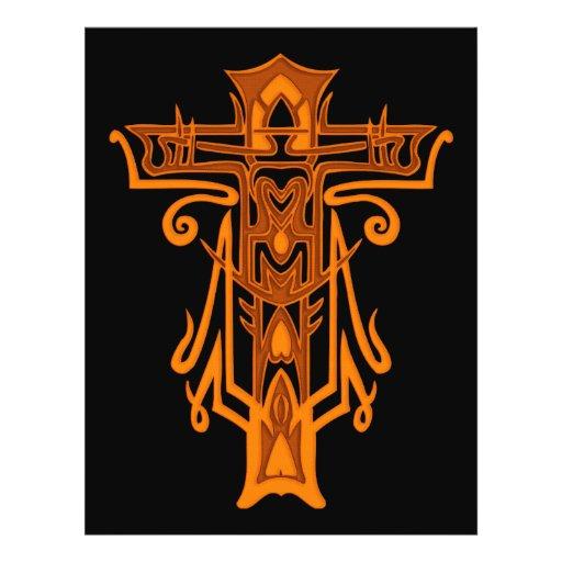 Christian Ornate Cross 65 Flyer