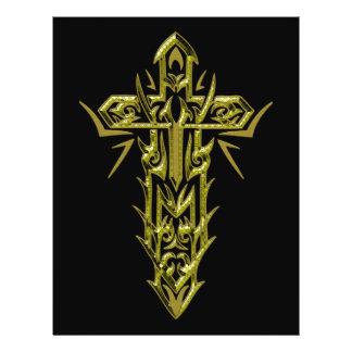 Christian Ornate Cross 66 Flyers