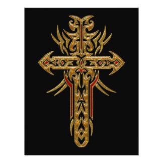 Christian Ornate Cross 71 Flyer Design