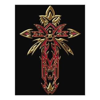 Christian Ornate Cross 74 Full Color Flyer